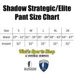 Shadow Strategic Elite Pant Size Chart