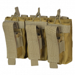 M4 9mm Double Open-Top Mag Pouch CT