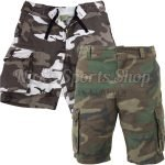 Rothco Vintage Camo Paratrooper Shorts Featured