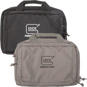 Glock Double Pistol Case Black & Grey